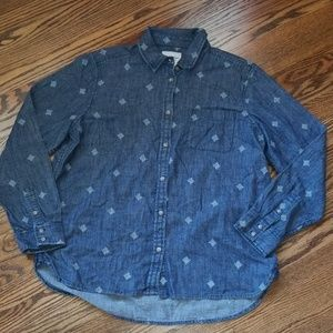 American Eagle Outfitters L/S Button-Down XL